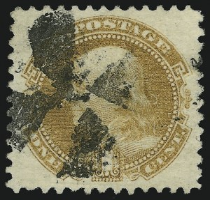 Sale Number 904, Lot Number 96, 1869 Pictorial Issue1c Buff (112), 1c Buff (112)