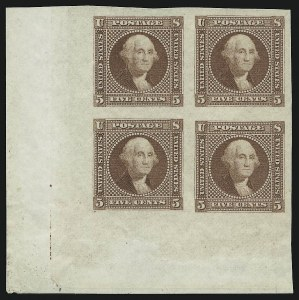 Sale Number 905, Lot Number 1033, Essays and Proofs5c Washington, Small Lettering, Plate Essay on Wove, Imperforate (115-E2c), 5c Washington, Small Lettering, Plate Essay on Wove, Imperforate (115-E2c)