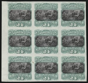 Sale Number 905, Lot Number 1053, Essays and Proofs24c Green & Violet, Plate Proof on India (120P3), 24c Green & Violet, Plate Proof on India (120P3)