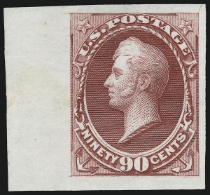Sale Number 905, Lot Number 1068, Essays and Proofs1c-90c National Bank Note Co., Plate Proofs on India (145P3-155P3), 1c-90c National Bank Note Co., Plate Proofs on India (145P3-155P3)