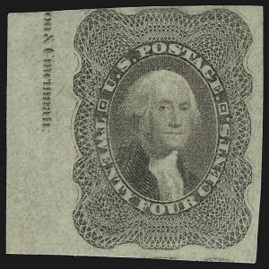 Sale Number 905, Lot Number 1411, 1857-60 Issue24c Lilac, Imperforate (37c), 24c Lilac, Imperforate (37c)