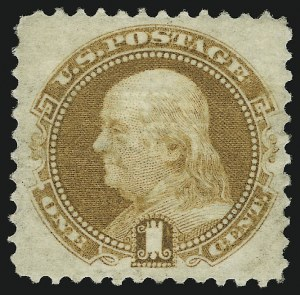 Sale Number 905, Lot Number 1589, 1869 Pictorial Issue1c Buff (112), 1c Buff (112)