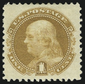 Sale Number 905, Lot Number 1590, 1869 Pictorial Issue1c Buff (112), 1c Buff (112)