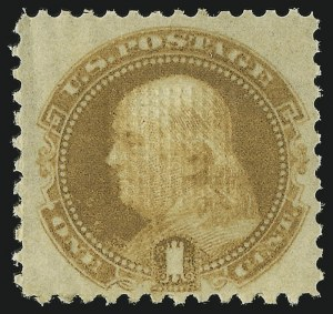 Sale Number 905, Lot Number 1591, 1869 Pictorial Issue1c Buff (112), 1c Buff (112)