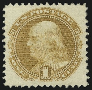 Sale Number 905, Lot Number 1594, 1869 Pictorial Issue1c Buff (112), 1c Buff (112)
