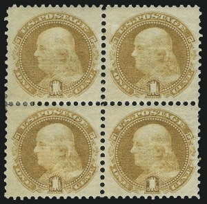 Sale Number 905, Lot Number 1595, 1869 Pictorial Issue1c Buff (112), 1c Buff (112)