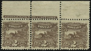 Sale Number 905, Lot Number 1605, 1869 Pictorial Issue2c Brown (113), 2c Brown (113)