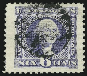 Sale Number 905, Lot Number 1614, 1869 Pictorial Issue6c Ultramarine (115), 6c Ultramarine (115)