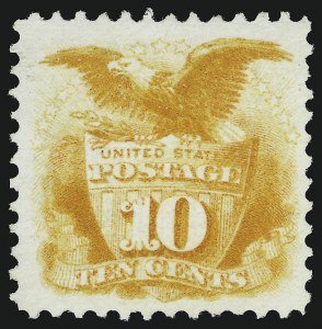 Sale Number 905, Lot Number 1618, 1869 Pictorial Issue10c Yellow (116), 10c Yellow (116)