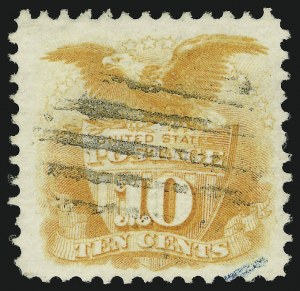 Sale Number 905, Lot Number 1624, 1869 Pictorial Issue10c Yellow (116), 10c Yellow (116)