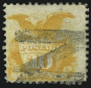 Sale Number 905, Lot Number 1627, 1869 Pictorial Issue10c Yellow (116), 10c Yellow (116)