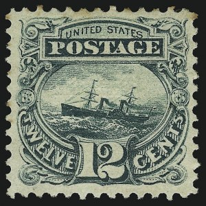 Sale Number 905, Lot Number 1630, 1869 Pictorial Issue12c Green (117), 12c Green (117)
