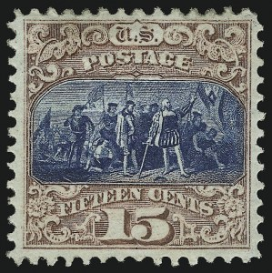 Sale Number 905, Lot Number 1655, 1869 Pictorial Issue15c Brown & Blue, Ty. II (119), 15c Brown & Blue, Ty. II (119)
