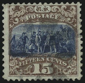 Sale Number 905, Lot Number 1664, 1869 Pictorial Issue15c Brown & Blue, Ty. II (119), 15c Brown & Blue, Ty. II (119)