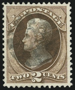 Sale Number 905, Lot Number 1758, 1870-88 Bank Note Issues (National Grills, Scott 134 thru 144)2c Red Brown, Grill (135), 2c Red Brown, Grill (135)