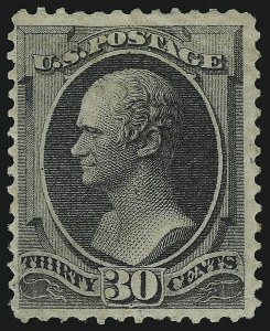 Sale Number 905, Lot Number 1784, 1870-88 Bank Note Issues (National Grills, Scott 134 thru 144)30c Black, Grill (143), 30c Black, Grill (143)