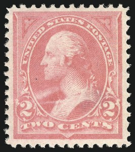 Sale Number 905, Lot Number 2102, 1894-98 Bureau Issues (Scott 246 thru 263)2c Pink, Ty. I (248), 2c Pink, Ty. I (248)