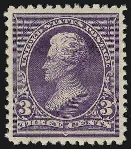 Sale Number 905, Lot Number 2105, 1894-98 Bureau Issues (Scott 246 thru 263)3c Purple (253), 3c Purple (253)