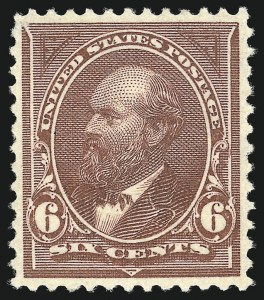 Sale Number 905, Lot Number 2109, 1894-98 Bureau Issues (Scott 246 thru 263)6c Dull Brown (256), 6c Dull Brown (256)