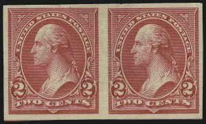 Sale Number 905, Lot Number 2141, 1894-98 Bureau Issues (Scott 264 thru 284)2c Carmine, Ty. III, Imperforate (267a), 2c Carmine, Ty. III, Imperforate (267a)
