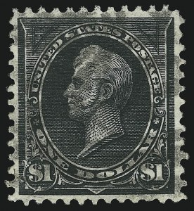 Sale Number 905, Lot Number 2170, 1894-98 Bureau Issues (Scott 264 thru 284)$1.00 Black, Ty. II (276A), $1.00 Black, Ty. II (276A)