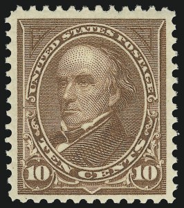 Sale Number 905, Lot Number 2187, 1894-98 Bureau Issues (Scott 264 thru 284)10c Brown, Ty. I (282C), 10c Brown, Ty. I (282C)