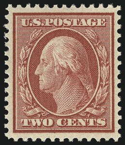 Sale Number 905, Lot Number 2433, Washington-Franklin Issues (Bluish Paper)2c Carmine, Bluish (358), 2c Carmine, Bluish (358)
