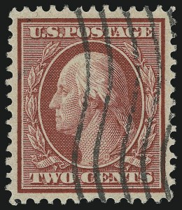 Sale Number 905, Lot Number 2434, Washington-Franklin Issues (Bluish Paper)2c Carmine, Bluish (358), 2c Carmine, Bluish (358)