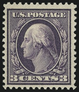 Sale Number 905, Lot Number 2435, Washington-Franklin Issues (Bluish Paper)3c Deep Violet, Bluish (359), 3c Deep Violet, Bluish (359)
