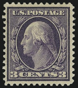 Sale Number 905, Lot Number 2437, Washington-Franklin Issues (Bluish Paper)3c Deep Violet, Bluish (359), 3c Deep Violet, Bluish (359)