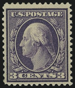 Sale Number 905, Lot Number 2438, Washington-Franklin Issues (Bluish Paper)3c Deep Violet, Bluish (359), 3c Deep Violet, Bluish (359)