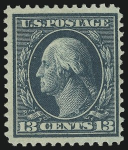 Sale Number 905, Lot Number 2446, Washington-Franklin Issues (Bluish Paper)13c Bluish Green, Bluish (365), 13c Bluish Green, Bluish (365)