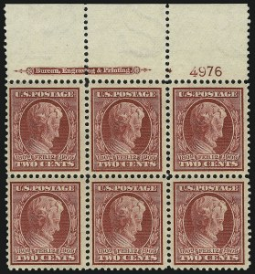 Sale Number 905, Lot Number 2454, Washington-Franklin Issues (Scott 367 to 396)2c Lincoln (367), 2c Lincoln (367)