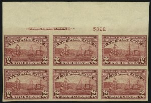Sale Number 905, Lot Number 2462, Washington-Franklin Issues (Scott 367 to 396)2c Hudson-Fulton, Imperforate (373), 2c Hudson-Fulton, Imperforate (373)