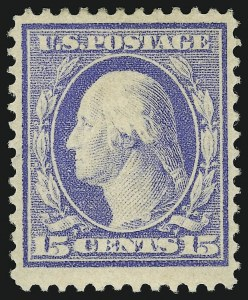 Sale Number 905, Lot Number 2467, Washington-Franklin Issues (Scott 367 to 396)15c Pale Ultramarine (382), 15c Pale Ultramarine (382)