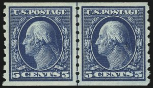 Sale Number 905, Lot Number 2496, Washington-Franklin Issues (Scott 367 to 396)4c Brown, 5c Blue (395-396), 4c Brown, 5c Blue (395-396)