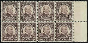 Sale Number 905, Lot Number 2761, 1922-25 Issue (Scott 551 to Later Issues)12c Brown Violet (564), 12c Brown Violet (564)
