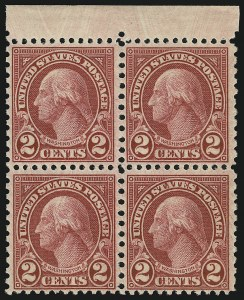 Sale Number 905, Lot Number 2781, 1922-25 Issue (Scott 551 to Later Issues)2c Carmine, Rotary (579), 2c Carmine, Rotary (579)
