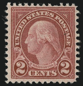 Sale Number 905, Lot Number 2787, 1922-25 Issue (Scott 551 to Later Issues)2c Carmine, Rotary, Perf 11 (595), 2c Carmine, Rotary, Perf 11 (595)