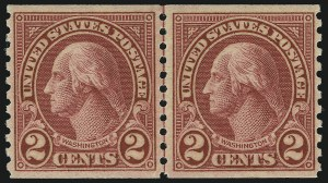 Sale Number 905, Lot Number 2793, 1922-25 Issue (Scott 551 to Later Issues)2c Carmine, Ty. II, Coil (599A), 2c Carmine, Ty. II, Coil (599A)