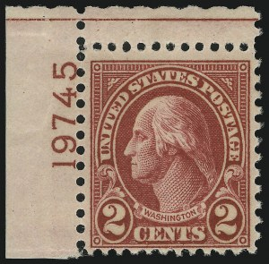 Sale Number 905, Lot Number 2813, 1922-25 Issue (Scott 551 to Later Issues)2c Carmine, Ty. II (634A), 2c Carmine, Ty. II (634A)