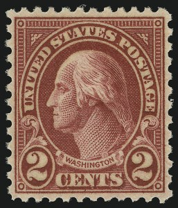 Sale Number 905, Lot Number 2815, 1922-25 Issue (Scott 551 to Later Issues)2c Carmine, Ty. II (634A), 2c Carmine, Ty. II (634A)