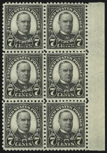 Sale Number 905, Lot Number 2821, 1922-25 Issue (Scott 551 to Later Issues)7c Nebr. Ovpt. (676), 7c Nebr. Ovpt. (676)