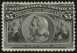 Sale Number 905, Lot Number 3017, Group by Issue1c-$5.00 Columbian (230-245), 1c-$5.00 Columbian (230-245)
