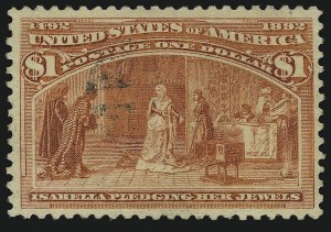 Sale Number 905, Lot Number 3029, Group by Issue1c-$1.00 Columbian (230-241), 1c-$1.00 Columbian (230-241)