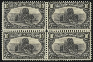 Sale Number 905, Lot Number 3045, Group by Issue1c-10c Trans-Mississippi (285-290), 1c-10c Trans-Mississippi (285-290)