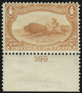 Sale Number 905, Lot Number 3047, Group by Issue1c-4c Trans-Mississippi (285-287), 1c-4c Trans-Mississippi (285-287)