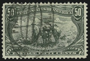 Sale Number 905, Lot Number 3048, Group by Issue50c Trans-Mississippi (291), 50c Trans-Mississippi (291)