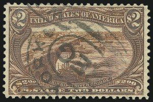 Sale Number 905, Lot Number 3050, Group by Issue1c-$2.00 Trans-Mississippi (285-293), 1c-$2.00 Trans-Mississippi (285-293)