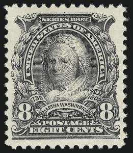 Sale Number 905, Lot Number 3068, Group by Issue5c-8c 1902 Issue (305-307), 5c-8c 1902 Issue (305-307)